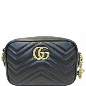 Gucci GG Marmont Matelasse mini bag 448065